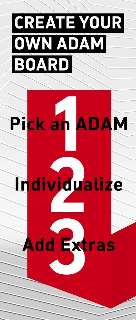 Great! You have chosen your color. Now you can individualize your ADAM here: http://pinterest.com/vauxhallmotors/individualize/