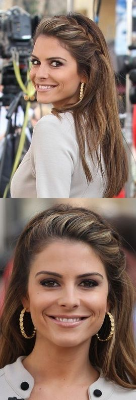 Do It Yourself - Maria Menounos' Face-Framing French Braid