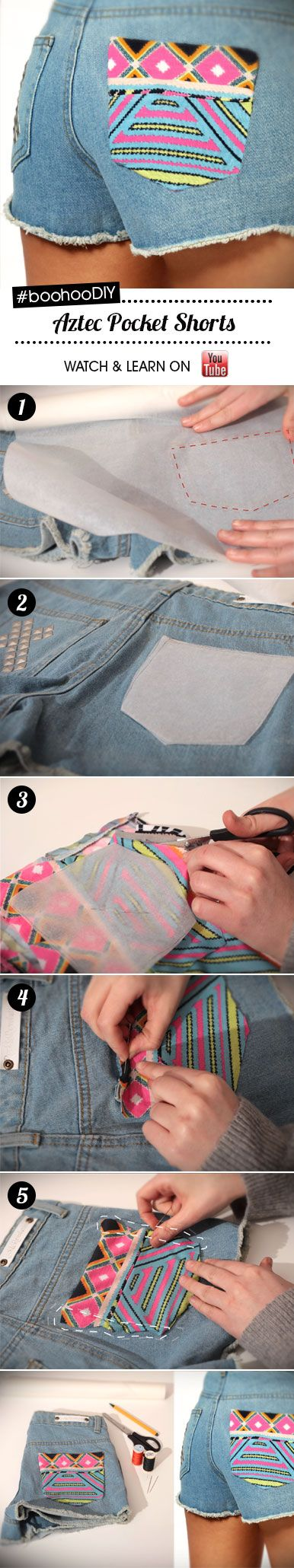 Are you ready for festival season? #DIY  #denim #shorts