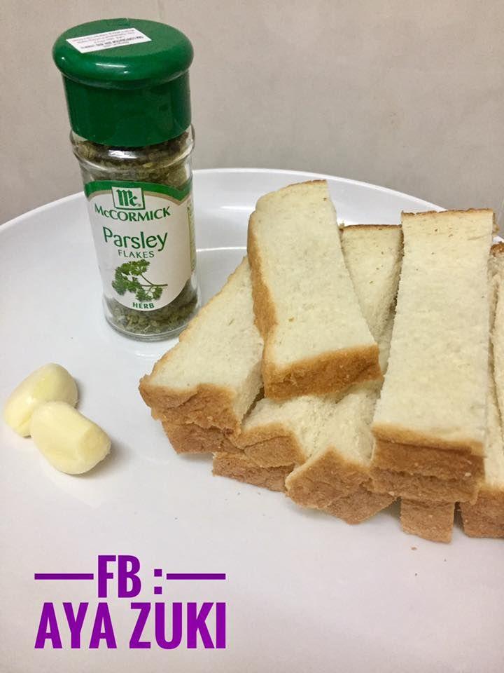 Resepi Garlic Spread Tanpa Parsley