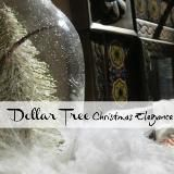 ~ Dollar tree christmas can be elegant
