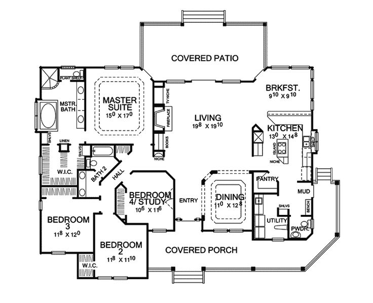 116 best images about house plans on pinterest full bath for House plans and more com home plans