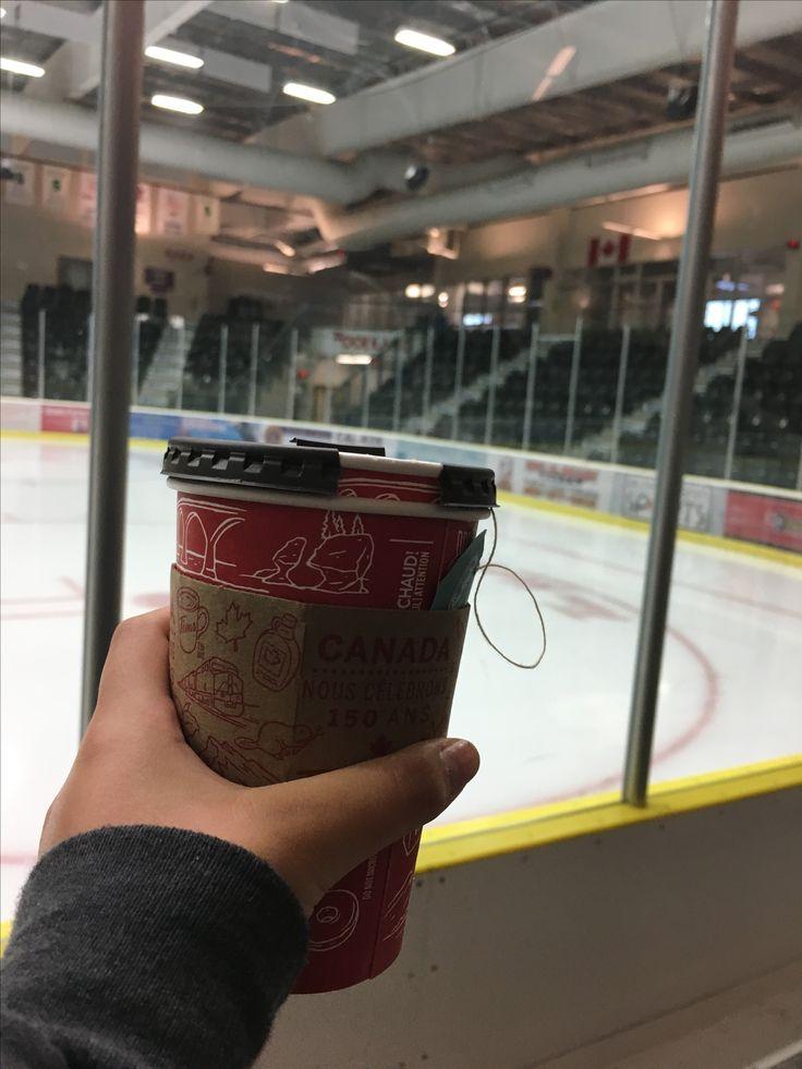 Most Canadian Photo Ever! #Canada #HockeyArena