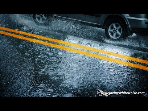 Driving In The Rain White Noise 🌧💧🚙 | Car & Rain Sounds with Windshield Wipers | 10 Hours - YouTube
