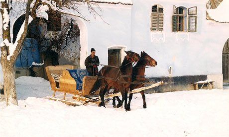 Transylvania's fairytale villages are as pretty as a Christmas card – the perfect setting for a snowy sleigh ride with Santa