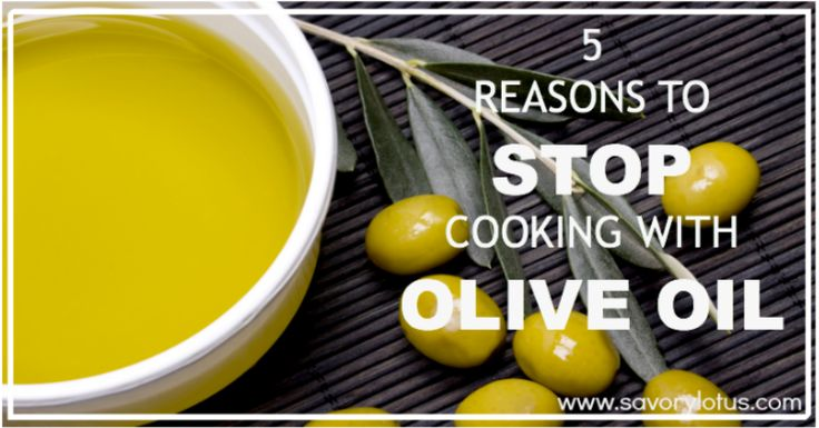 """Olive oil is a healthy and delicious oil.  Just don't use it for cooking.  It is wonderful in salad dressings and dips and can be drizzled over already cooked vegetables.  Choose saturated fats for cooking, not unsaturated.  Fats recommended to cook with: coconut oil, butter, ghee, lard/tallow"""