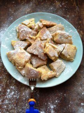 Kaiserschmarrnn - dat dit officieel een dessert is maakt mijn ontbijtvariant eigenlijk nóg lekkerder!