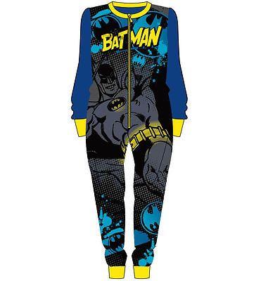 Kids Onesie Boys Girls Fleece All in One Character Childrens Pyjamas 1.5-8 Years