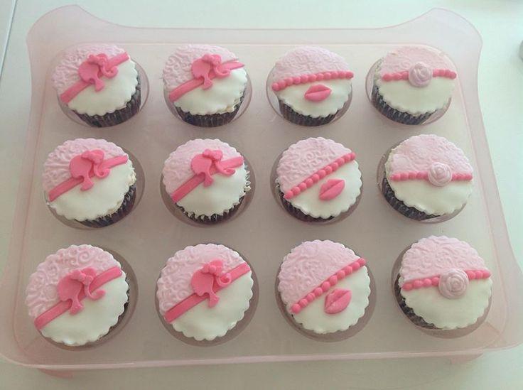 Muffins pink