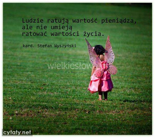 Ludzie ratują wartość pieniądza, ale nie umieją... #Wyszyński-Stefan,  #Pieniądze-i-bogactwo, #Życie