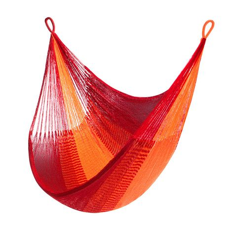 Bring casual relaxation to the backyard with the incredible comfort of the Key West Hanging Chair. With a loose-knit, breezy weave that's perfect for summer days, this hanging chair stretches to six fe...  Find the Key West Hanging Chair, as seen in the Bohemian Sanctuary Collection at http://dotandbo.com/collections/bohemian-sanctuary?utm_source=pinterest&utm_medium=organic&db_sku=110615