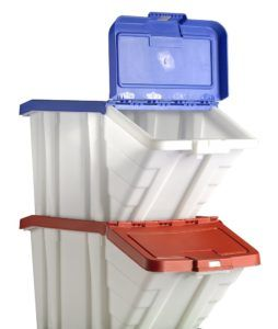 Small Plastic Stacking Storage Boxes