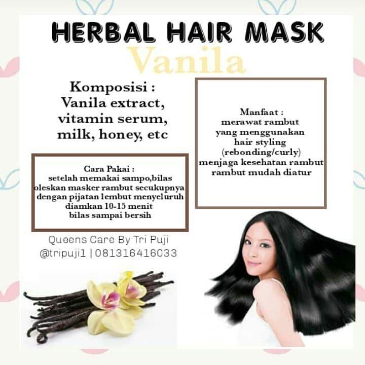 60 Hair Mask Creambath Hair Mask Ditujukan Untuk Menutrusi Rambut Dengan Perpaduan Berbagai Vitamin Yang Berguna Untuk Membuat Rambut Lebih Le Skin Skin Care