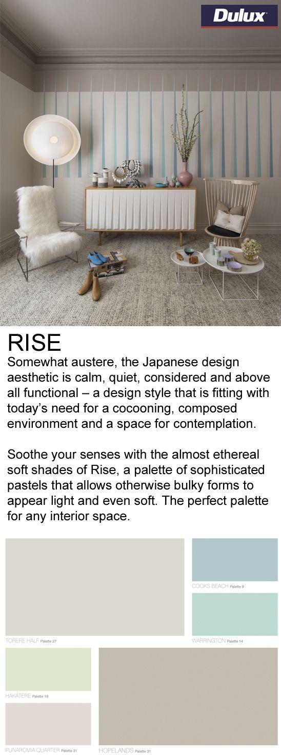 Find RISE inspired fabrics at Lahood.   www.lahood.co.nz