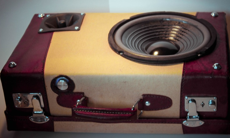 Retro suitcase bass - Case of bass!