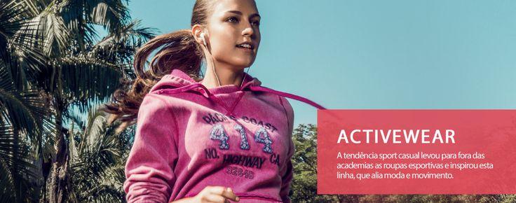 Nova Marca Hering For You, tem coleções Activewear, Beachwear, Lougenwear, Sleepwear e Underwear. Por enquanto estará disponível para compras somente no site da empresa.  http://www.heringforyou.heringwebstore.com.br/activewear Fonte:http://www.heringforyou.heringwebstore.com.br/