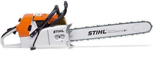 Big Ass Stihl chainsaw - MS 880: Chop those trees down with ease. any chainsaw is freakin cool. It reminds me of my younger days cutting firewood with my dad. And the time I basically parked the hilux and trailer across both lanes of highway trying to get the car over the drainage ditch. Cringworth, but fun times