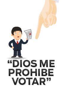 @maspormas: Porque su iglesia se los prohíbe, miles de chilangos no votarán en las #elecciones2015 http://t.co/NLOTF6jkQ4 http://t.co/pOMNg65SlU