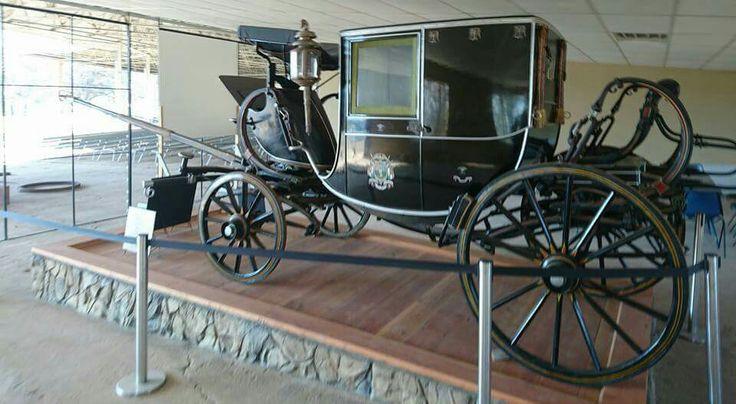 Paul Kruger Coach in Krugersdorp in Boer War Museum
