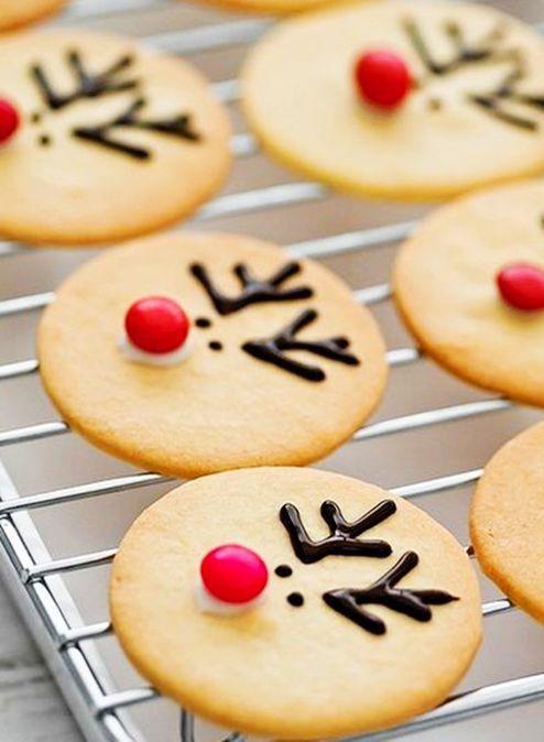kids christmas Reindeer Cookies #Reindeer Cookies Ideas