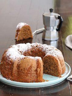 CIAMBELLONE COCCO CAFFE ricetta dolce da dispensa senza burro