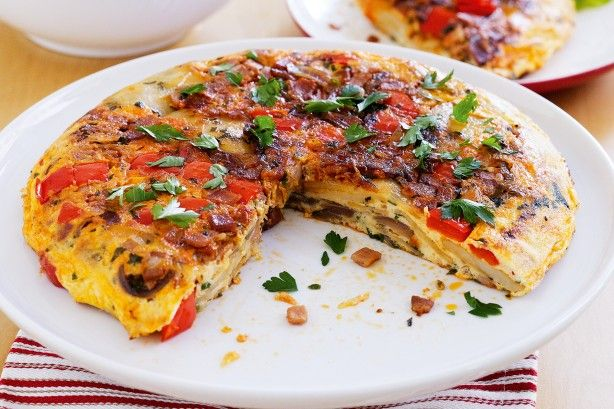 Have dinner on the table in 30 minutes with this simple and tasty Spanish tortilla recipe.