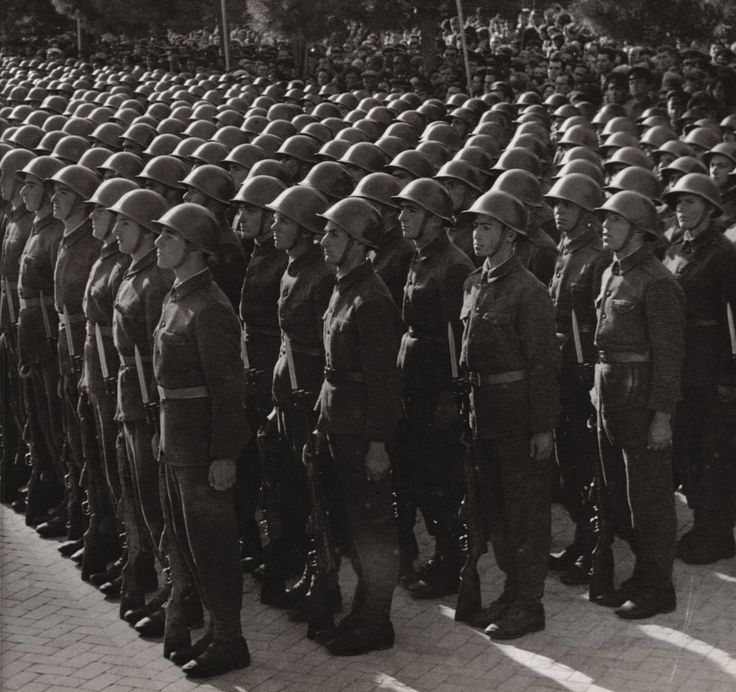 Soldiers of the Albanian People`s Army.