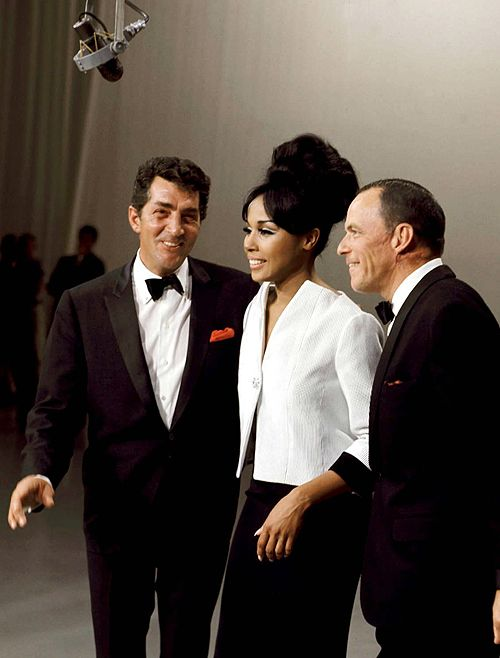 Dean Martin, Diahann Carroll, and Frank Sinatra on The Dean Martin Show, 1965