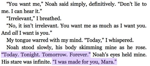 Mara Dyer and Noah