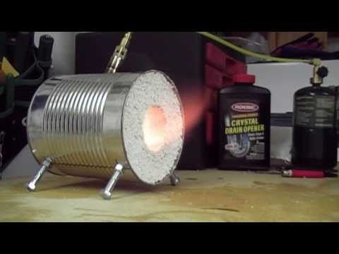 Making Your Own Coffee Can Forge