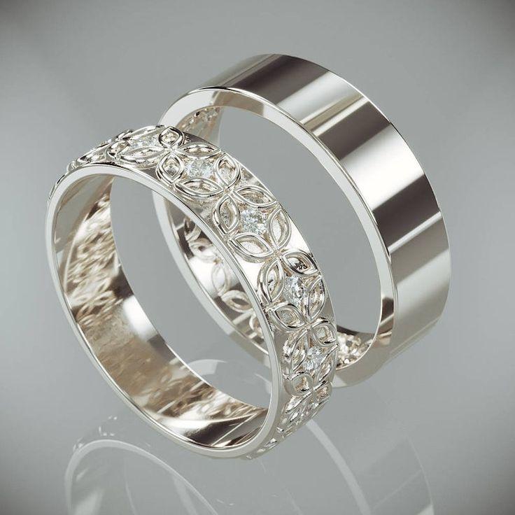 flower diamond ring setting