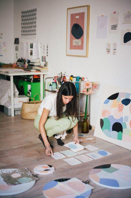 Freunde von Freunden — Johanna Tagada & Jatinder Singh Durhailay — Artists, Apartment, Prenzlauer Berg, Berlin — http://www.freundevonfreunden.com/interviews/johanna-tagada-jatinder-singh-durhailay/