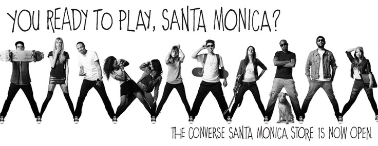 I gotta get to this new store in Santa Monica and customize some Converse! :)