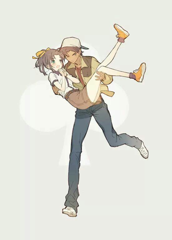 Detective Conan - Heiji & Kazuha