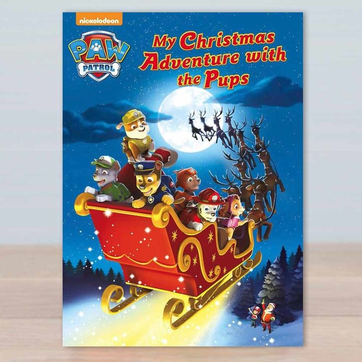 I Just Love It Paw Patrol Christmas Adventure Book Paw Patrol Christmas Adventure Book - Gift Details. Have you got a serious Paw Patrol fan on your hands? Do they spend their winter holidays immersed in episodes of Ryder and his posse of pooches savi http://www.MightGet.com/january-2017-11/i-just-love-it-paw-patrol-christmas-adventure-book.asp