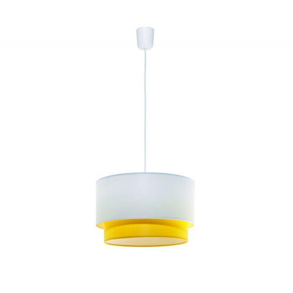 Lampa Wisząca Sufitowa Żyrandol Huron Żółty – Sklep Lampex - 120 PLN