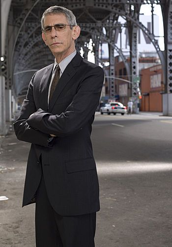 Law and Order: SVU - Richard Belzer. He's a great animal welfare advocate. Love him