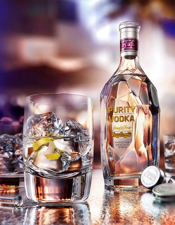 Purity Vodka Still-Life on Behance