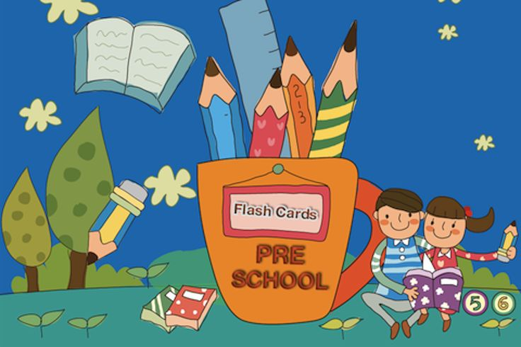 Pre School Flash Cards  Pre School Flash Cards for Kidz has been designed to educate young children with the names of objects, numbers, alphabets, colors and animals in a fun loving environment which can get the interest and attention of any child.