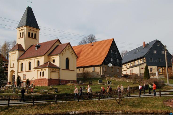 Schlagwitz, gehört wie Franken zur Stadt Waldenburg.