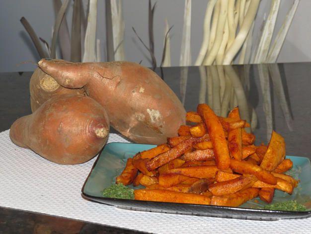 Frite de patate douce   Team Boileau - Entraîneur Personnel