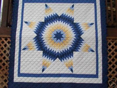 Lone Star Quilt Pattern Queen Size : 100 best images about Radiant Star Quilts on Pinterest Quilt, Antiques and Log cabin quilts
