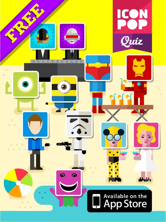 ICON POP Quiz on Behance