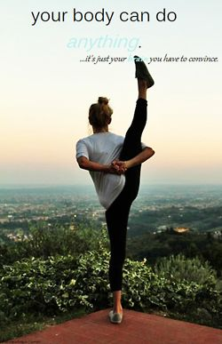 Convince your mind to get your body to yoga today ... They'll both thank you later for it