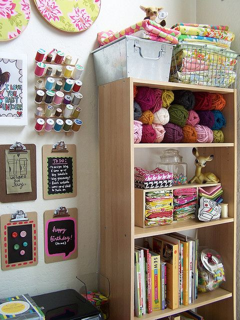 We don't know where to begin we love this so much! Fill your craft space up with yarn and supplies from Annie's! www.AnniesCatalog.com.