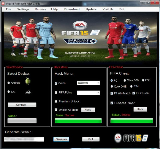 Fifa 15 android hack