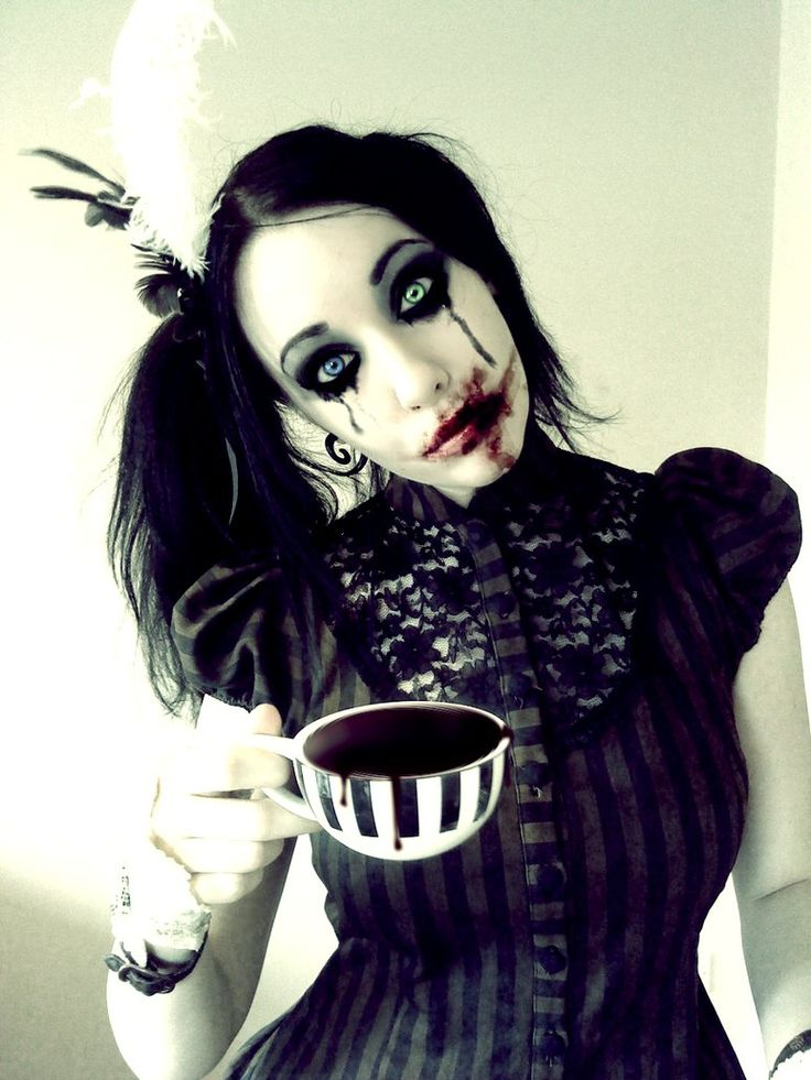 203 best Gothic Hair & Makeup images on Pinterest | Gothic hair ...