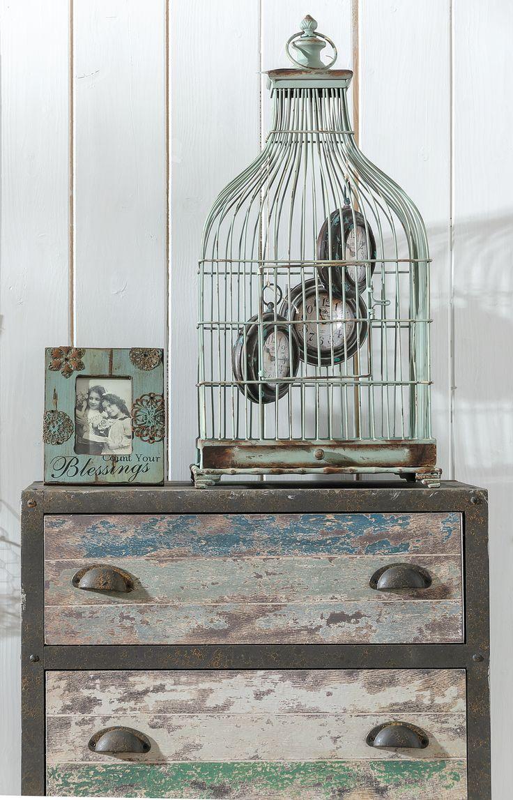 Metalowy zegar w stylu #vintage  Ciekawy dodatek do wielu wnętrz. #belldeco #timetodesigne #designe #homedecor #decor #clock