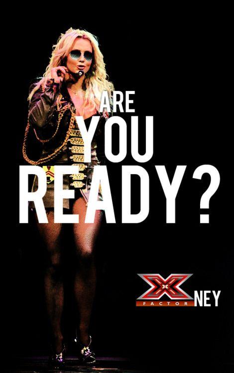 http://pinterest.com/britneyspears/x-factor-ney/: X Factors, Factors Ney, Queen Britney, Britney Bitch, Factors 2012, Brit Xfactorney, X Factorney, Ready, Britney Spears