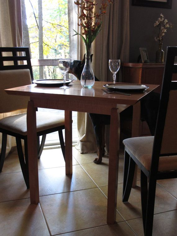 in stock small kitchen table narrow dining table for breakfast nook card table handmade wood furniture - Dining Tables For Small Spaces